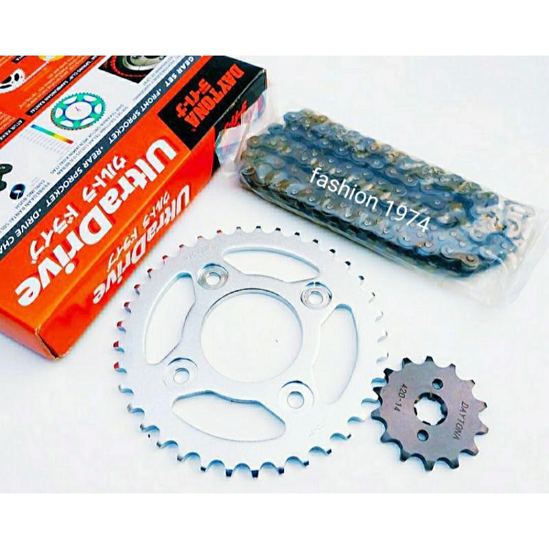 gear set gir paket full Supra x125/karisma original daytona