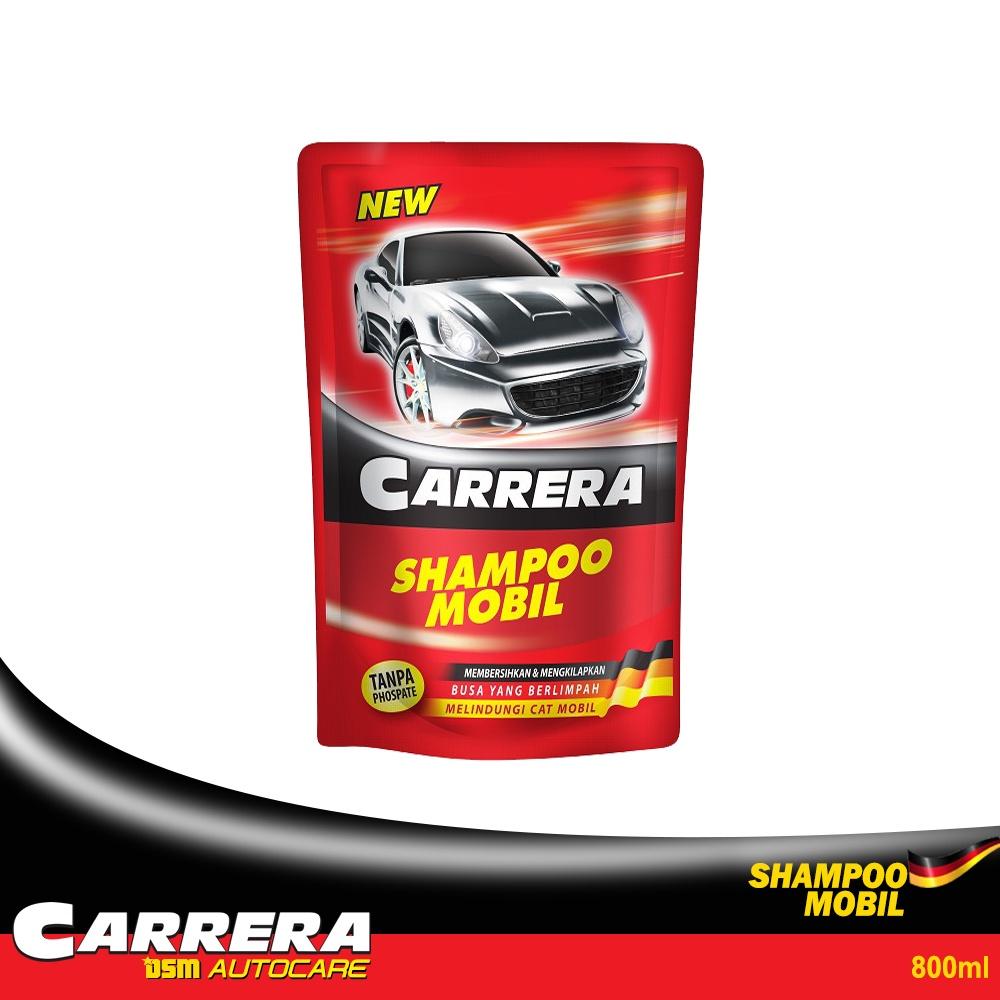Carrera Shampoo Mobil - 800ml / Busa Berlimpah Tanpa Phospate Membersihkan Dan Mengkilapkan