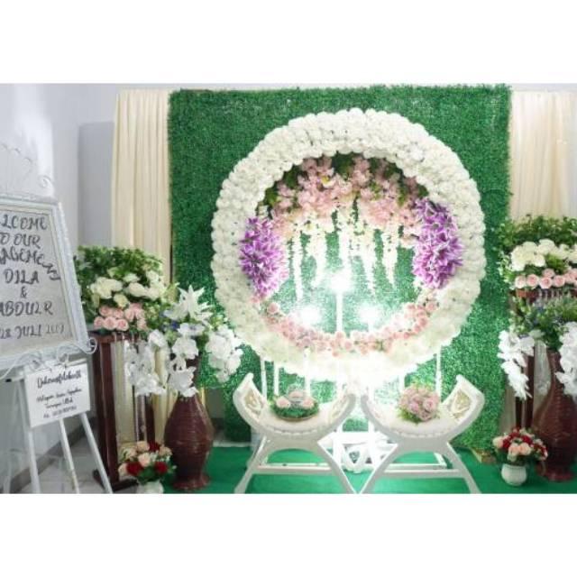 Dekorasi Photo Booth Mewah Murah Elegan Untuk Pernikahan