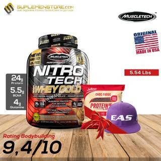 Muscletech Muscle Tech NitroTech Nitrotech Whey Gold 5,5lbs 5,5lb