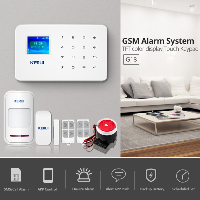 ALARM GSM SYSTEM - GSM AUTO-DIAL - HIGH QUALITY SILICON GSM-888 |