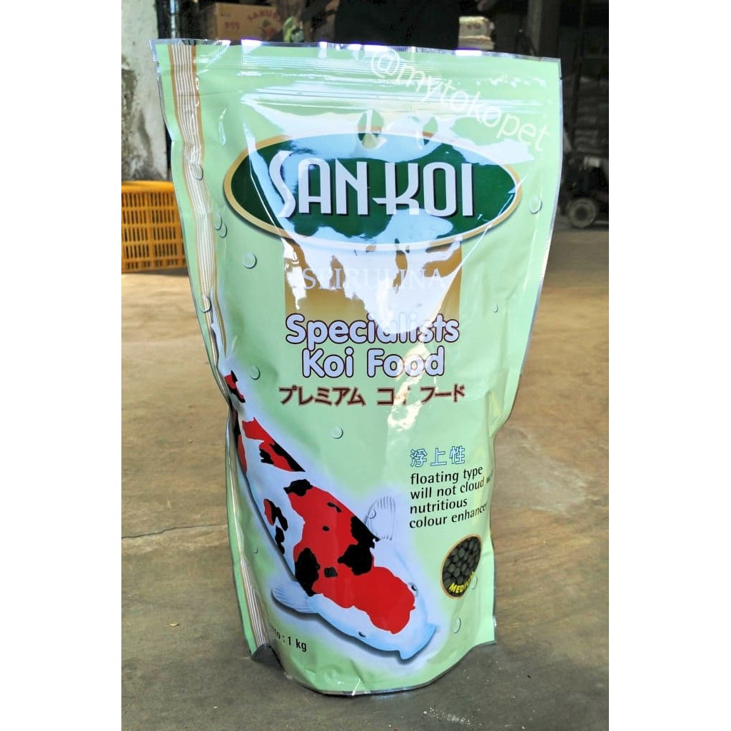 Happy Satori Pakan Koi Kualitas Unggul Shopee Indonesia Hiro Premium Food 5mm 1kg Makanan Ikan
