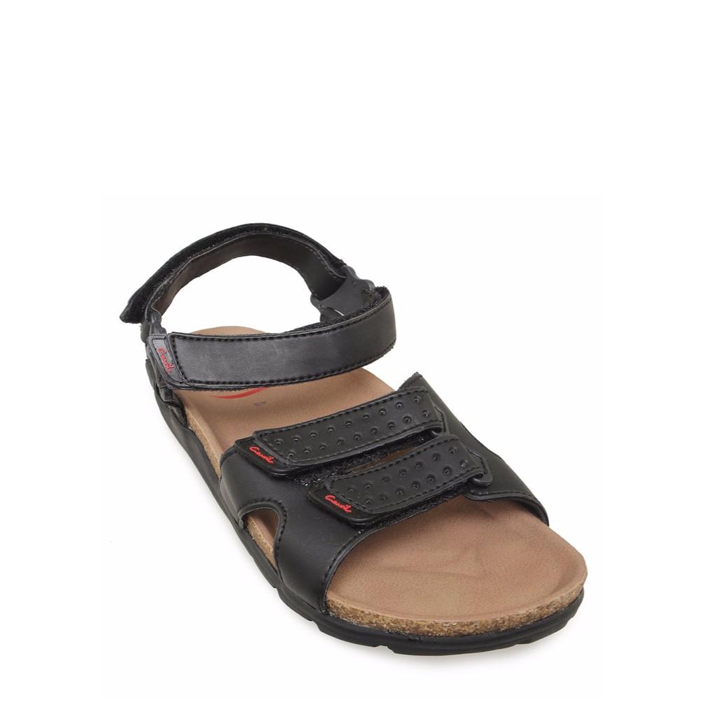 Carvil Sandal Man St 02 Black Shopee Indonesia Sponge Men Spextra 05 M Grey Abu Tua 41