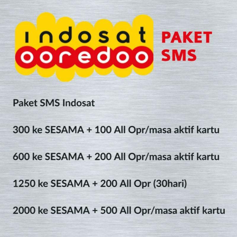 Paket Sms Indosat Shopee Indonesia