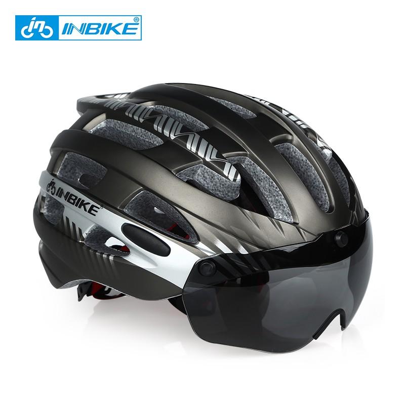 Ultralight AM Bike Helmet Road Cycling Helmet with Visor MTB Bicycle Helmets