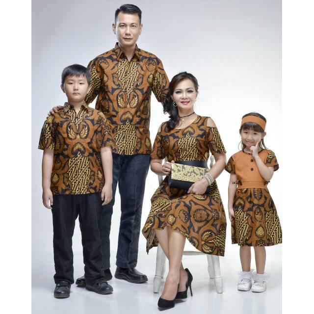 Hem Dress Marsya Gurdo Pabrik Baju Batik Keluarga Dress Sarimbit Couple Grosir Murah