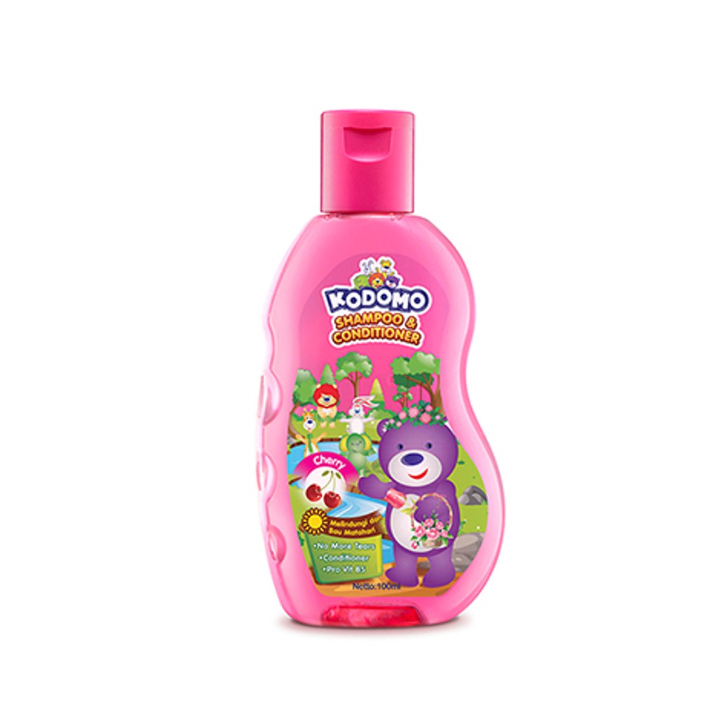 KODOMO Shampoo GEL CHERRY Botol 200ML-1