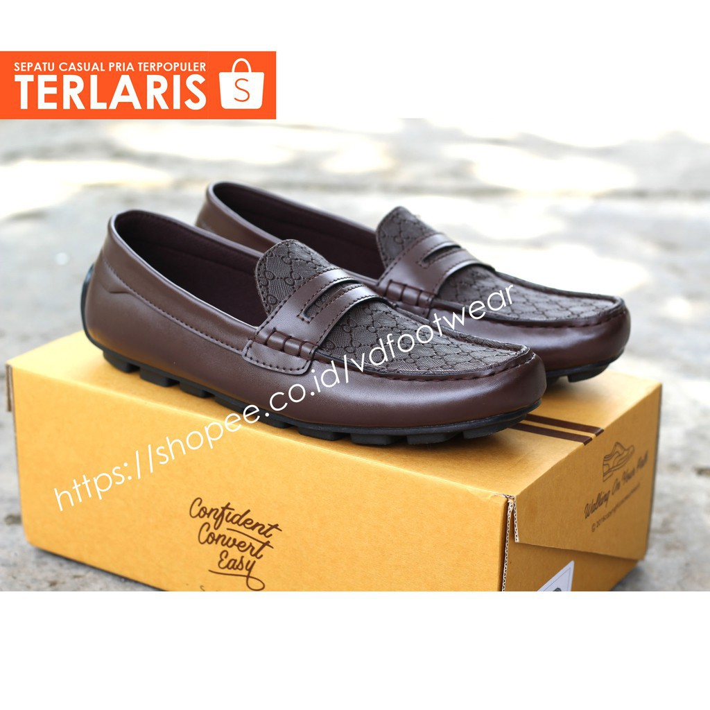 DECANO Men Loafers Sepatu Pria Formal Casual Slip On Loafers Sneakers Boots  Slop Shoes Cowok  ada05a80cf