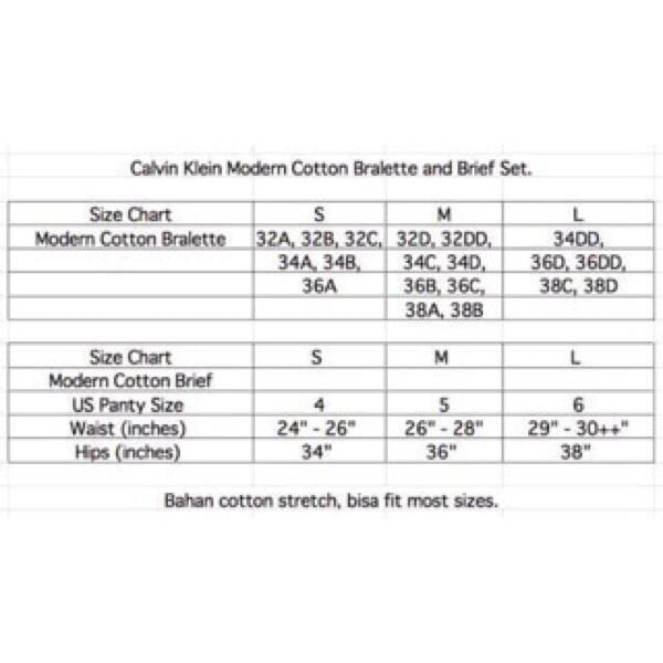 Best White Calvin Klein Bralette Bra Braset Bikini Set Gstring Lingerie Ck