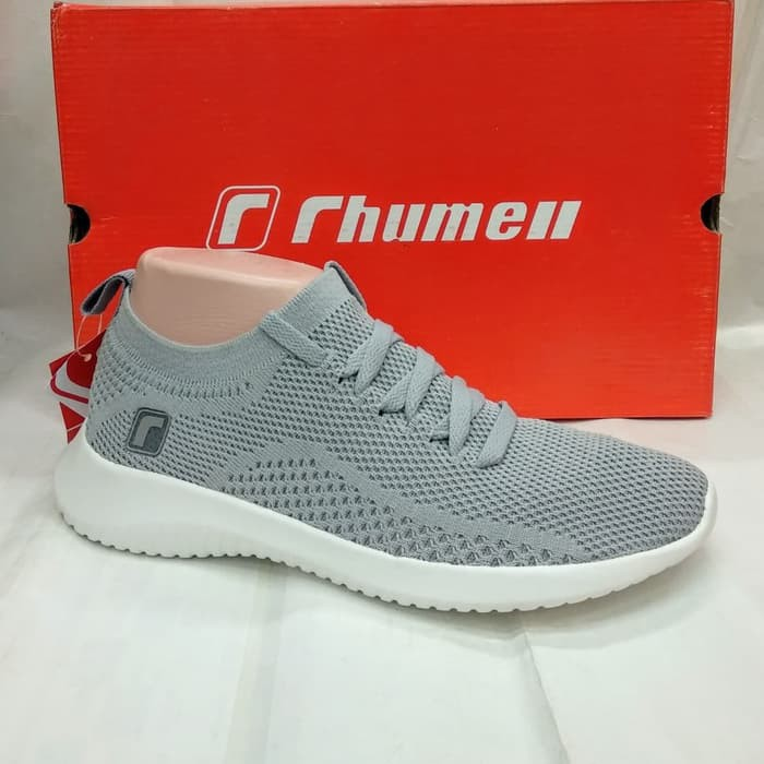 sepatu sport casual RHUMELL CHERY light grey.original rhumell 4938c24e81