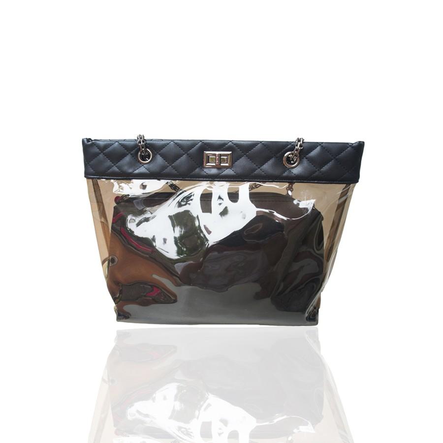 Import Free 2pc Quincylabel New Croco Tote Bag 4 Warna Shopee Himalayan Dark Blue Indonesia