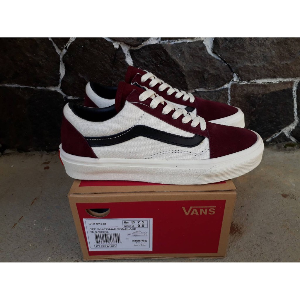 1c01f685011 100% PREMIUM VANS OLDSKOOL VELCRO OFF THE WALL BLACK WHITE WAFFLE DT - ICC  BNIB CHINA