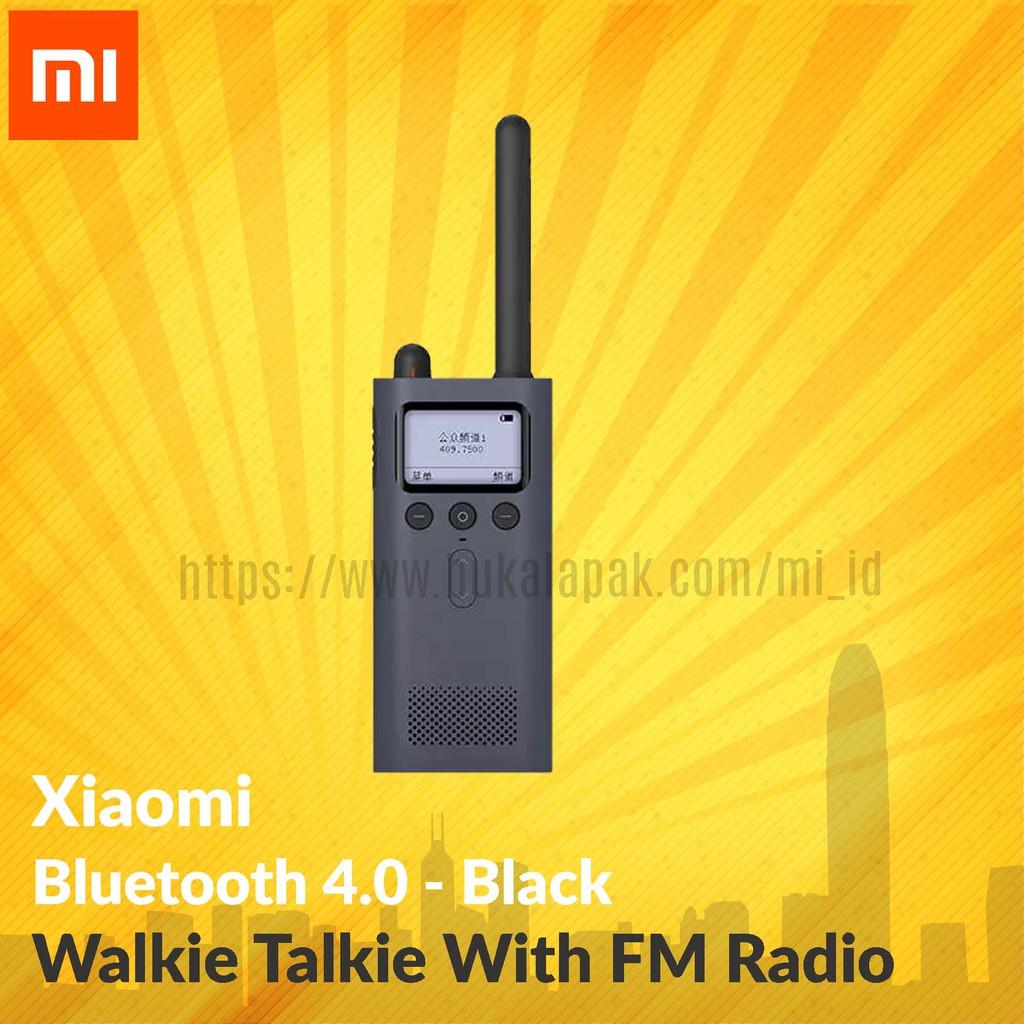 Xiaomi Bluetooth 40 Walkie Talkie With Fm Radio White Shopee Original Speaker Mi Square Putih Indonesia