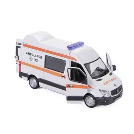 Ambulance For Sale >> Sale Diecast Mercedes Benz Sprinter Ambulance Diecast Tank