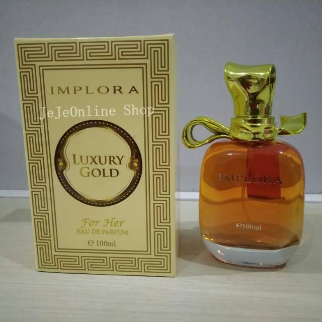 Parfum Implora 268 Luxury Gold 100 Ml Shopee Indonesia