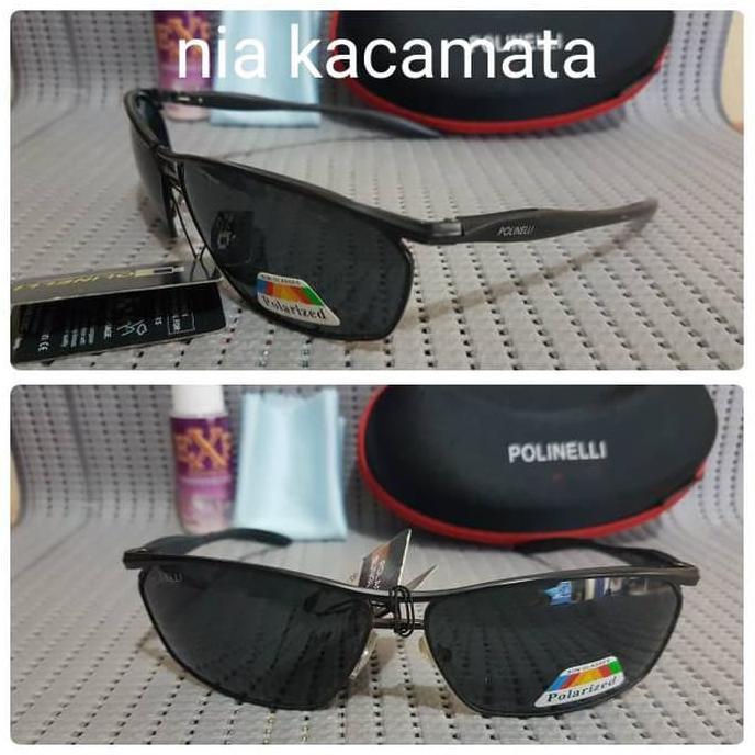 Kacamata Polinelli Tersedia 3 Warna Lensa Polaris Bahan Titanium  45d20867fd