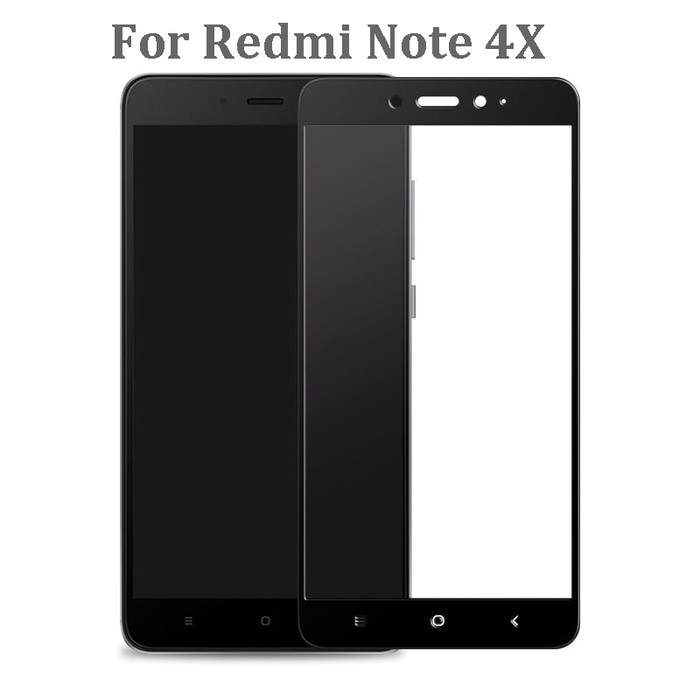 Xiaomi Redmi Note 4X 4 SNAPDRAGON Tempered Glass Color 2.5D Full Cover HQ | Shopee
