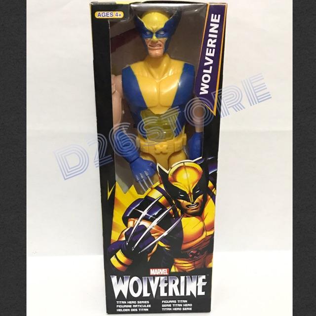 X-men avengers Figurine 30cm Marvel Titan Hero Wolverine