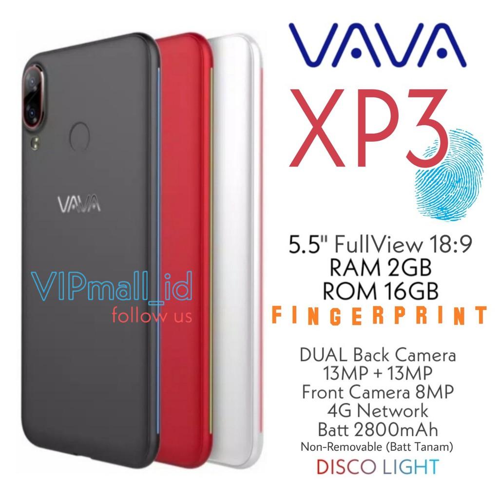 (FINGERPRINT) VAVA XP3 4G - HP ANDROID RAM 2GB/16GB - SMARTPHONE - HP VAVA XP3 - HP ANDROID MURAH