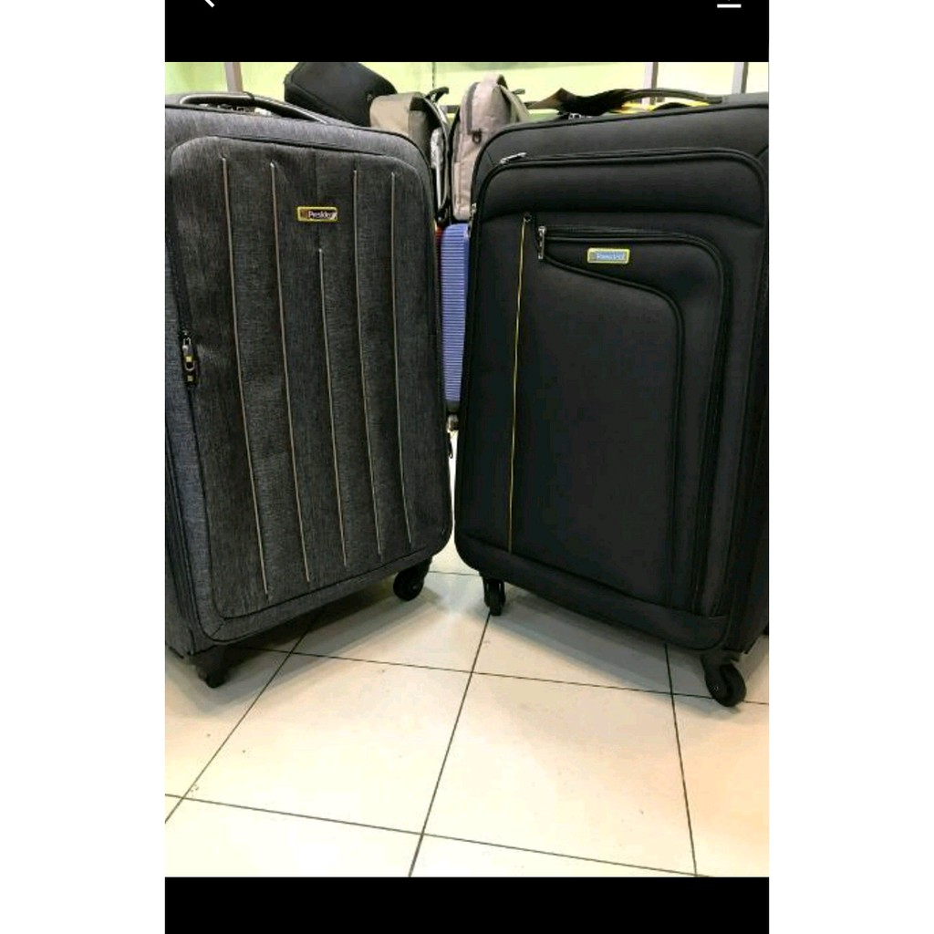 Koper Kain President Uk 20 Inc Kunci Tsa Sleting Anti Maling Polo Ukuran 24 Roda 2 Ada Shopee Indonesia