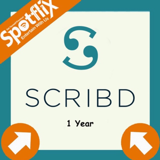 Scribd Premium 1 Year Shopee Indonesia