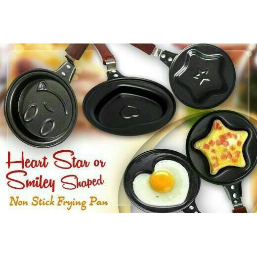 teflon mini karakter / frying fry pan wajan karakter anti lengket   Shopee Indonesia