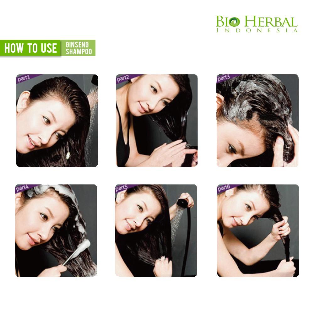 Bio Herbal Shampo Ginseng Bpom Shampoo