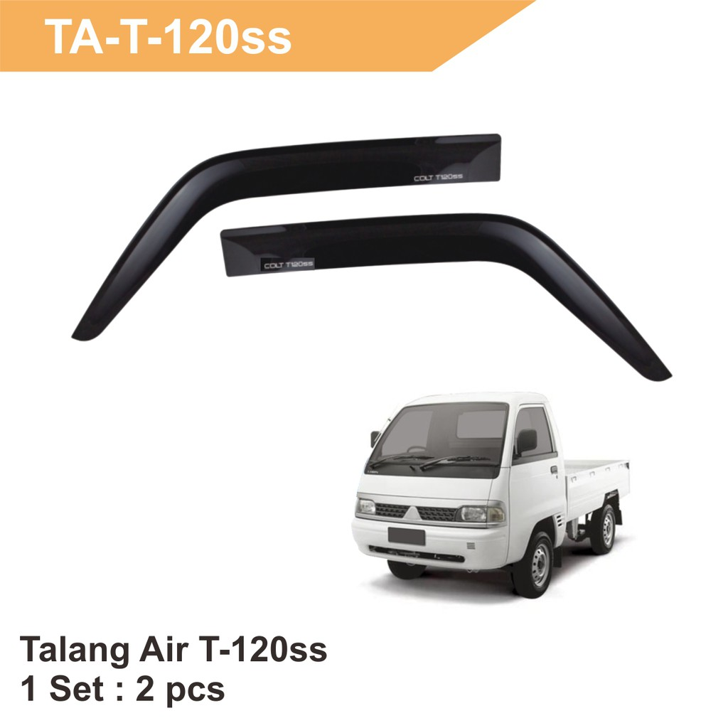Talang Air Door Visor Mobilio Injetion Shopee Indonesia Lampu Stop T 120ss Crystal