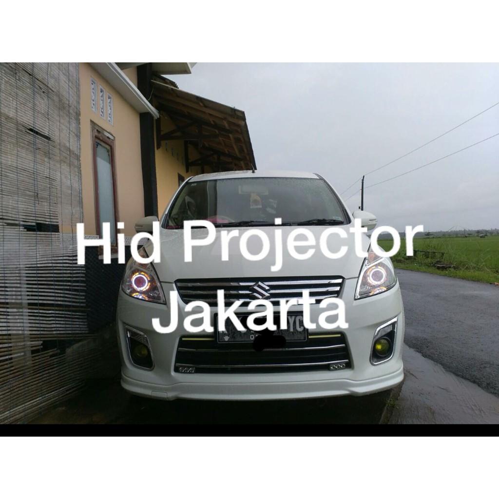 PROJIE HID AES 7 PROJECTOR LENSA STANDAR LAMPU UTAMA MOBIL MOTOR PROJI BERGARABSI 1 TAHUN | Shopee Indonesia