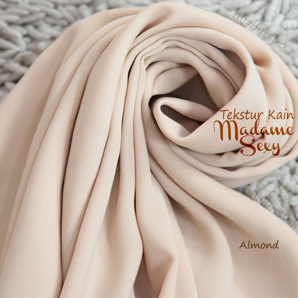 1 Meter Bahan Kain Madame Sexy By Hijaberstex Shopee Indonesia Keranjang Baju Karakter Laundry Bag Good Quality