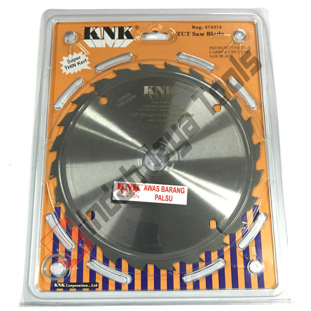 Mata Circle Knk 7 X 24t Thin Blade Circular Saw Potong Kayu Atau Tora 4inch 72t Shopee Indonesia