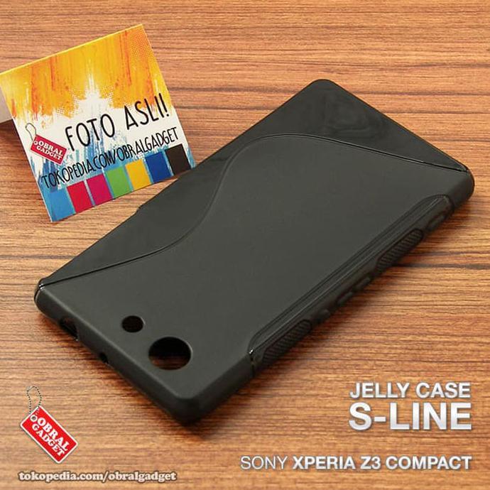 softcase Sony Xperia M5 list chrome - Emas + Gratis Tempered Glass (11059205).