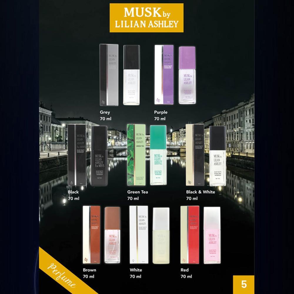 Musk By Lilian Ashley 30ml Shopee Indonesia 1 Gratis Original Parfum Black For Men 70ml