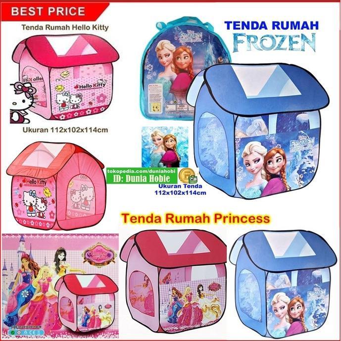 TERLARIS TENDA SEGITIGA FROZEN HF011 - KADO MAINAN ANAK TENDA MANDI BOLA , ... | Shopee Indonesia