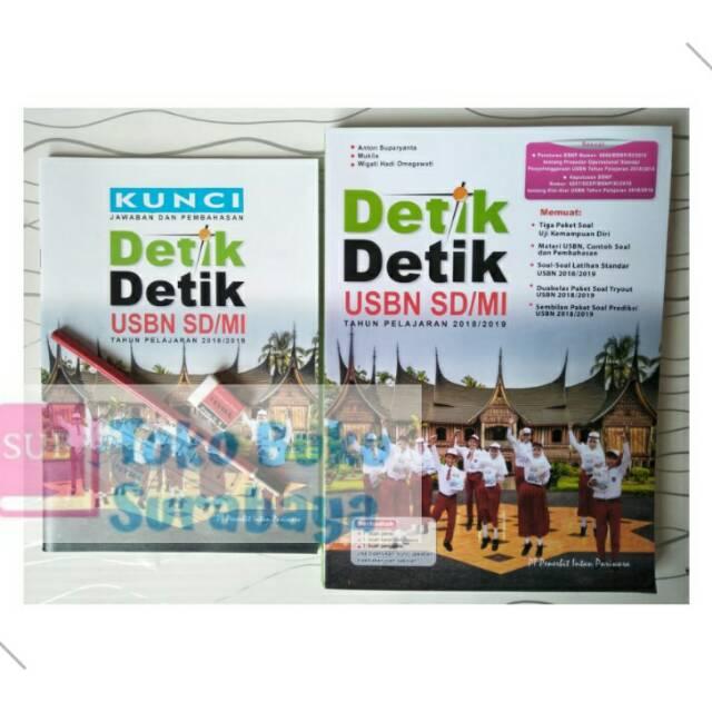 Detik Detik Usbn Sd Mi Soal Dan Kunci Jawaban Intan Pariwara Shopee Indonesia