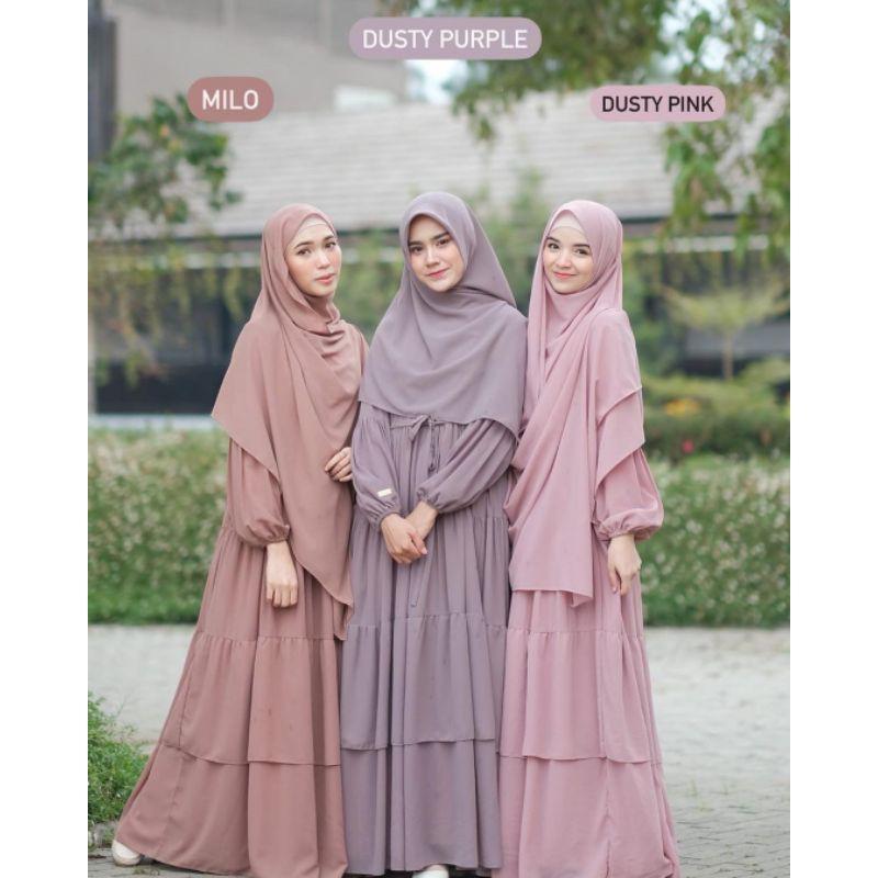 [Dress Muslim] Haura Dress by Gerai Aliyah Gamis Wanita