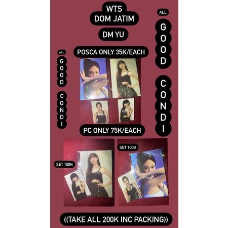 Jennie Lisa Blackpink Photocard Poca PC