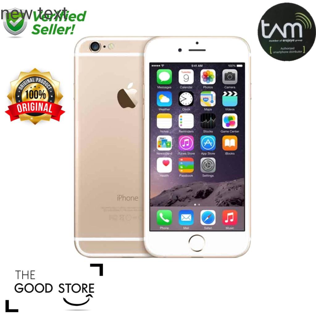 iPhone 6 16GB GOLD garansi distributor 1 tahun  9825c25478