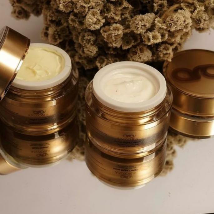 PROMO 3.3 SALE FREE ONGKIR Anzora glow Anzora acne skincare anzora | night cream anzora | day cream