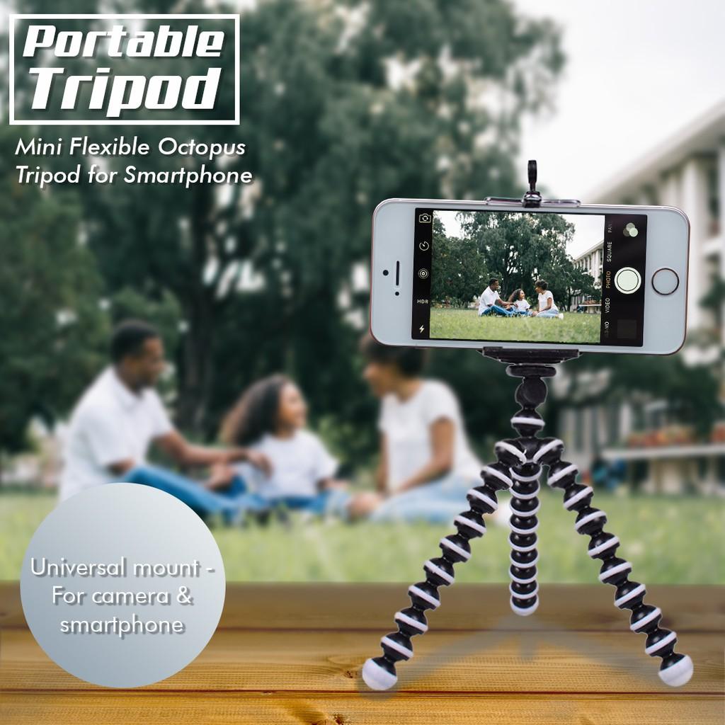 Gorilla Pod / Tripod Gorilla Mini + Holder / Tripod Fleksibel | Shopee Indonesia