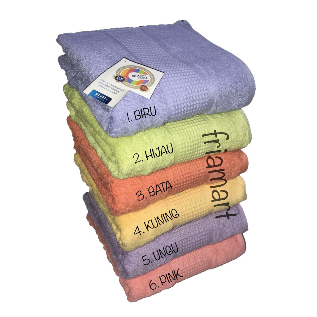 Serba Murah Paket Hemat 2 Pcs Handuk Terry Palmer Concept Mandi Exclusiv Combed Cotton Anti Bacterial Isi 3pcs Enchanted 70 X 140 Cm New Stock Shopee Indonesia