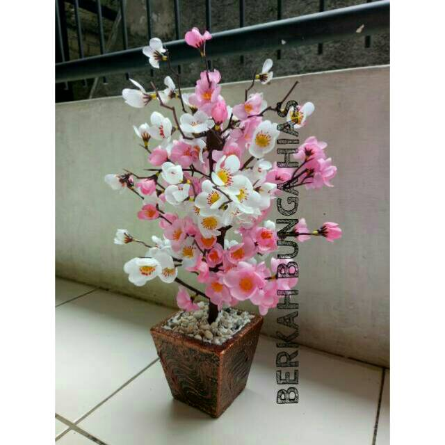 Bunga Sakura Impor Artificial Per Lusin Shopee Indonesia