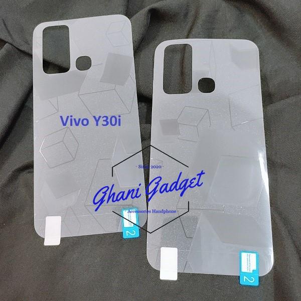 Vivo Y30i Back Skin Glitter Cube 3D Vivo Y30i / Anti Gores Belakang Vivo Y30i / Garskin Vivo Y30i