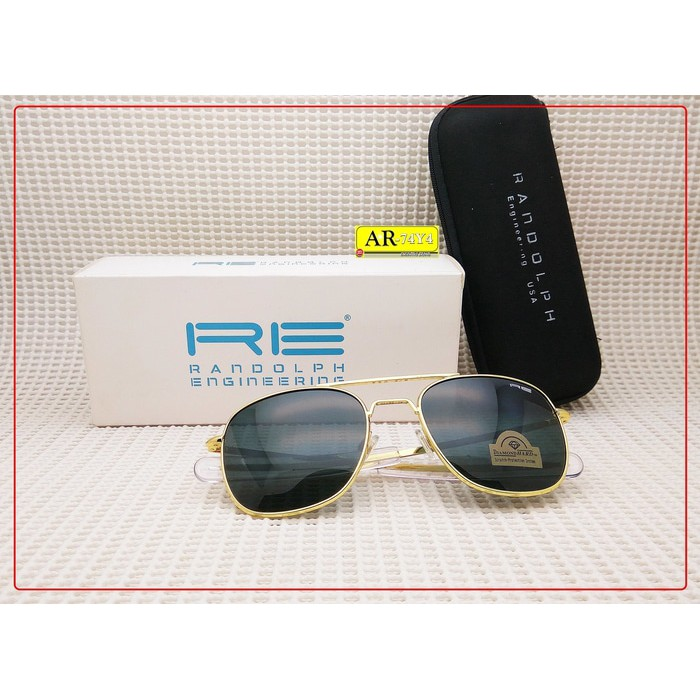 Sunglasses Kacamata Outdoor Re Randolph Engineering Pilot Aviator Usa  3378901daf