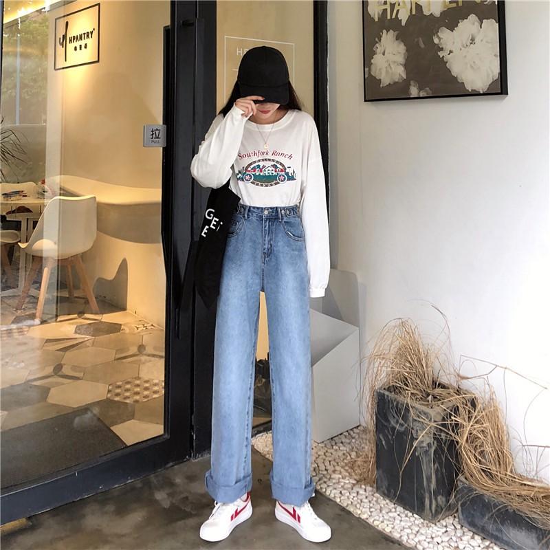 Highwaist Jeans Wide Leg