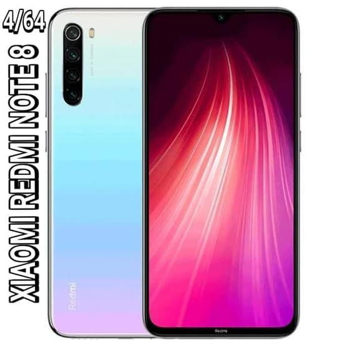 [Handphone/HP] XIAOMI REDMI NOTE 8 RAM 4/64GB GARANSI RESMI - Putih