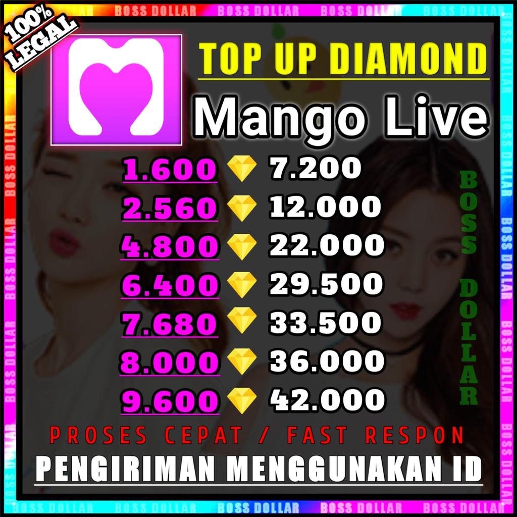 TOP UP DIAMOND MANGO LIVE TERMURAH #C1