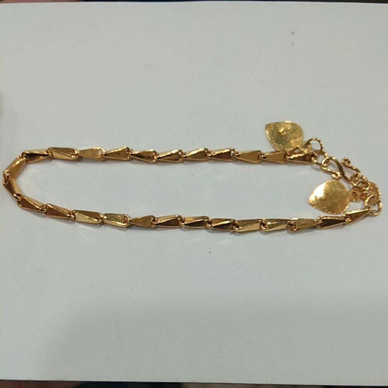 gelang padi 3 gram emas muda