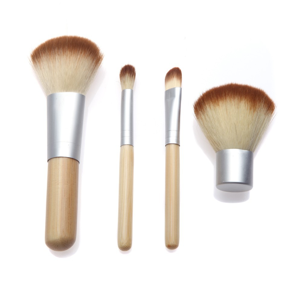 Jbs Ny Kuas Bamboo Wooden Makeup Brush 4 Set Make Up New York 12 K025 K079 K070 Spon Telur Egg Shopee Indonesia