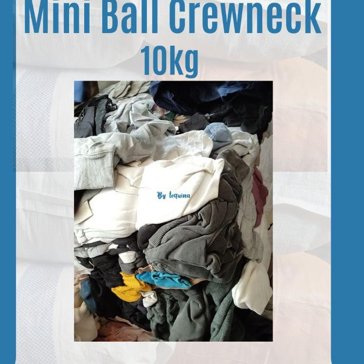 MINI BALL CREWNECK / PAKET USAHA CREWNECK / THRIFT CREWNECK / PAKET USAHA SWEATER CREWNECK (ART. Y56